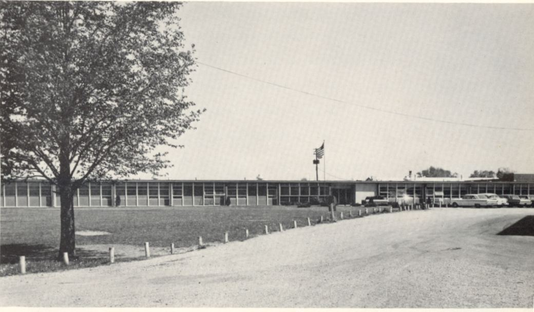 new hs in 1963 became known as j wing