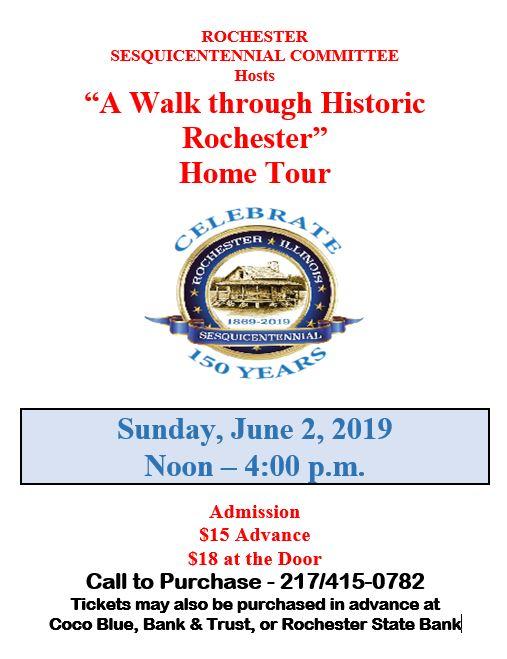 2019 Historic Home Tour Flyer